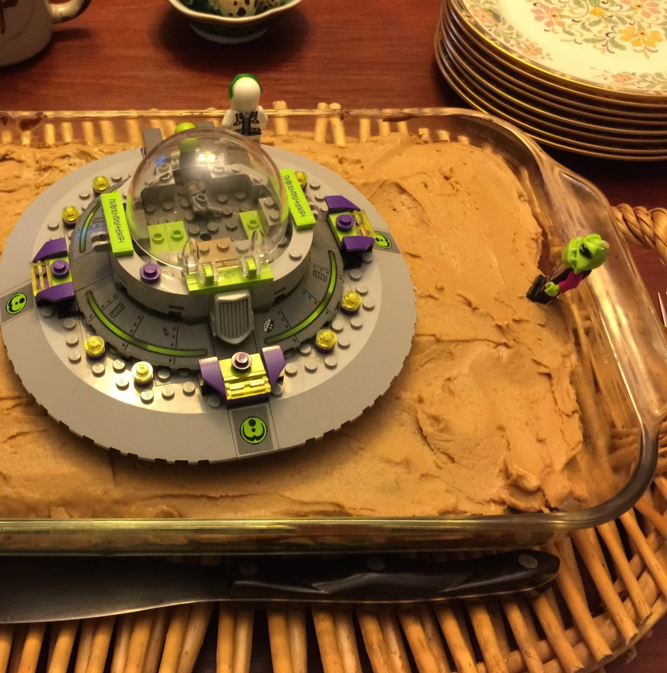 Martian Potato Cake