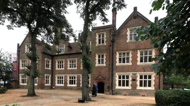 Eastbury Manor House near Upney tube.