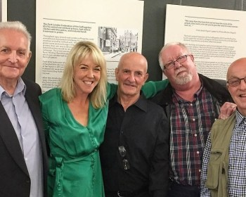 Geezers with local author Kate Thomson in Sept 2019