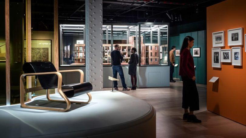 Living with Buildings exhibition at Wellcome Collection
