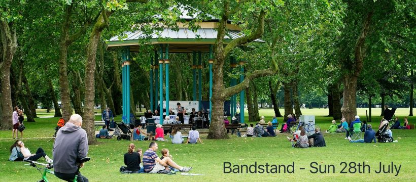 Victoria Park Bandstand 28th July 2019