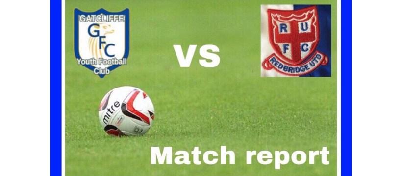 March Report - Gatcliffe Whites vs Redbridge