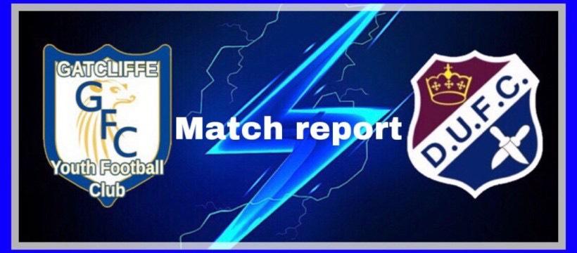 Gatcliffe YFC v Dagenham United Blues header