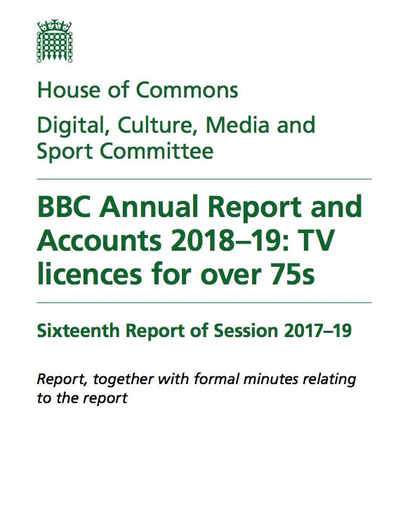 Government report on the BBC