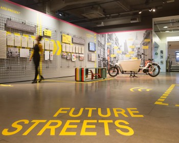 Future Streets exhibition at Building Design Centre