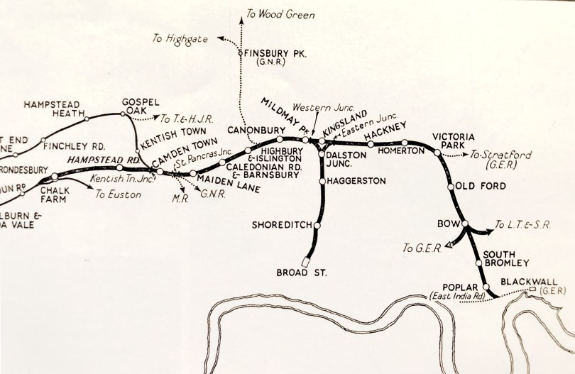 North London Railway about 1910