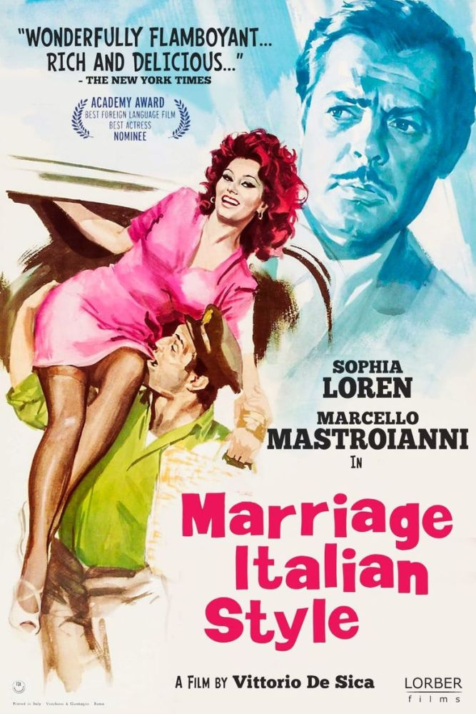 Marriage Italian Style film poster