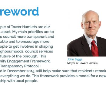 John Biggs promises to make the council more transparent