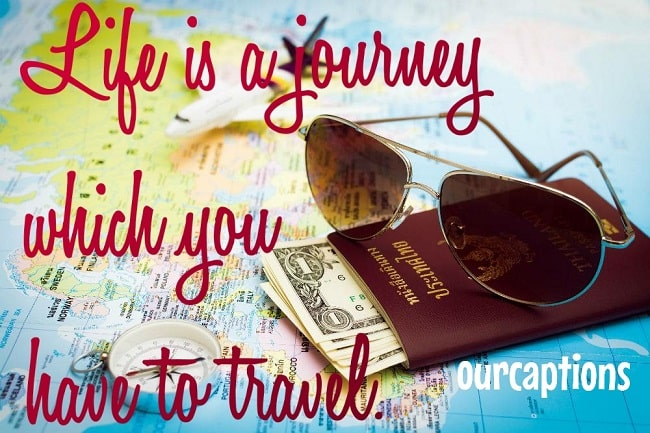 Travelling Quotes and Captions