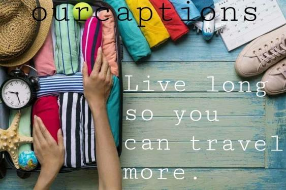 Instagram Travelling Captions & Quotes