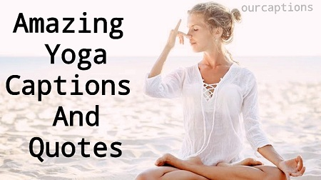 yoga quotes and captions