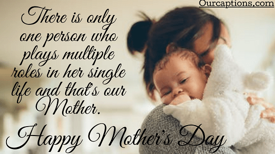 Happy mothers day captions