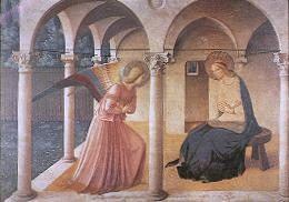 The Annunciation, by Fra Angelico, courtesy of Wikipedia
