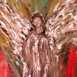 """The Angel of Gethsemane"" by Katie Wilson"