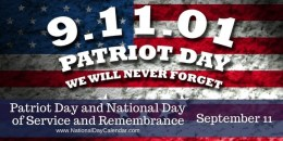 Patriot Day Prayers