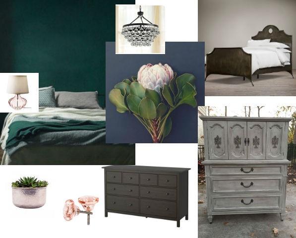 Our Corner of the World Blog | Master bedroom baby steps | Master bedroom mood board
