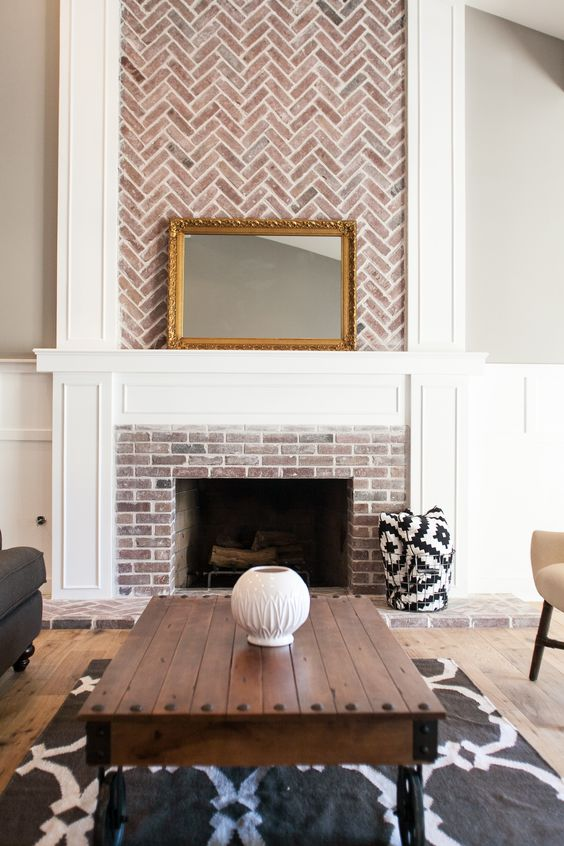 Our Corner of the World Blog | Fireplace Inspiration - via The Rafterhouse