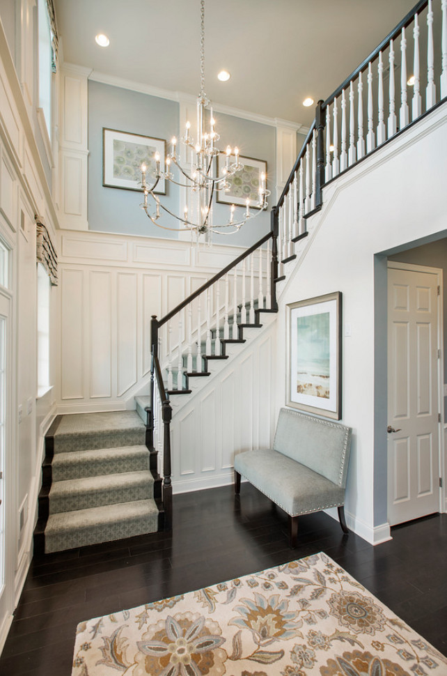 Our Corner of the World Blog | Staircase Inspiration - via Mary Cook Associates