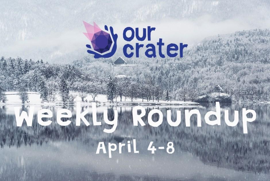 Weekly Roundup: April 4-8