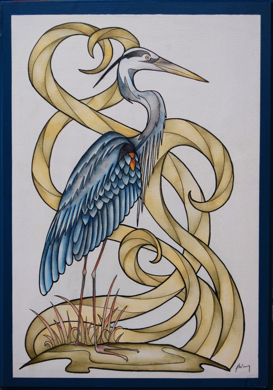 blue heron mar 2015