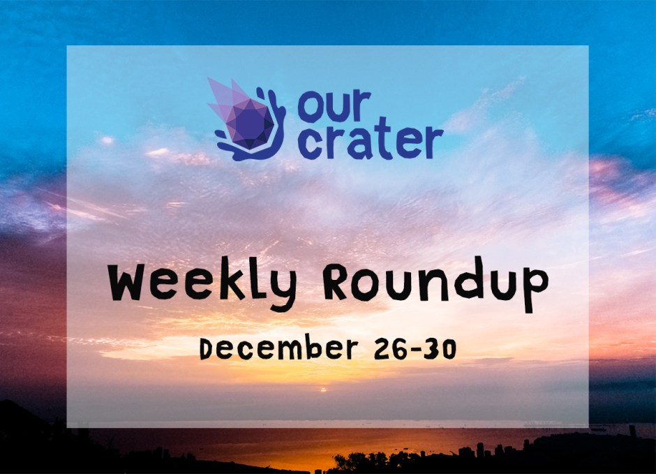 Weekly Roundup: December 26-30