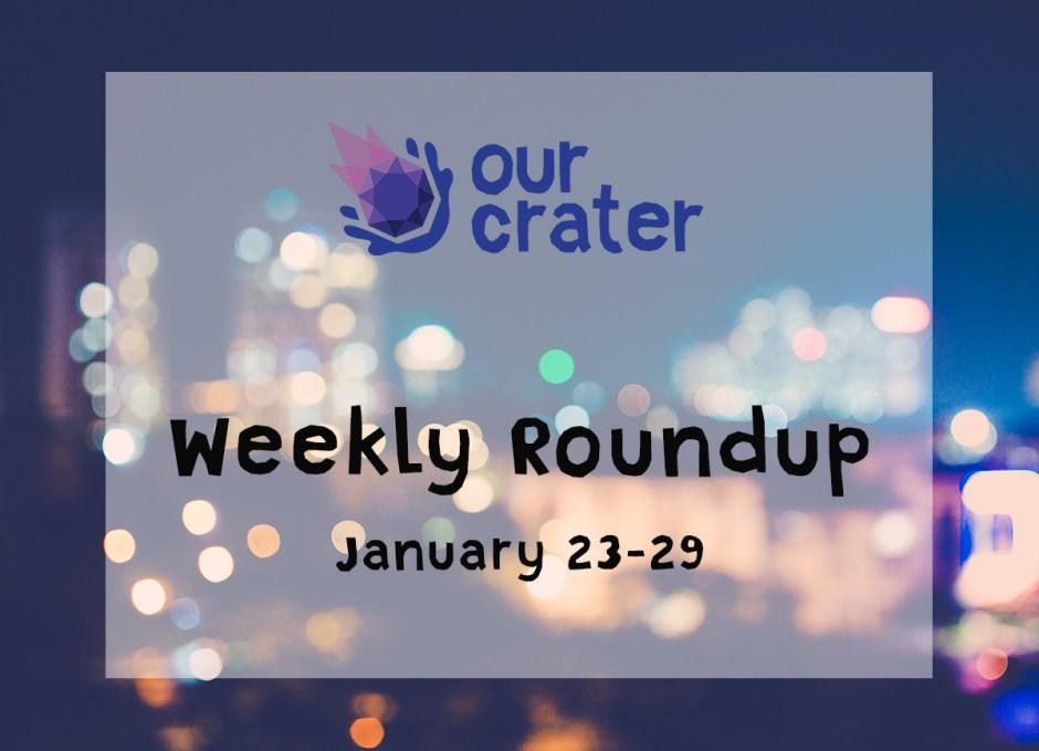 Weekly Roundup: January 23-29