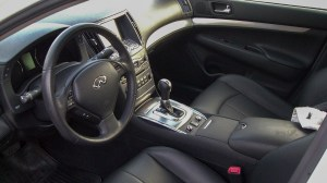 G25 front seats