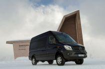 Mercedes-Benz Introduces 4×4 Sprinter in Europe