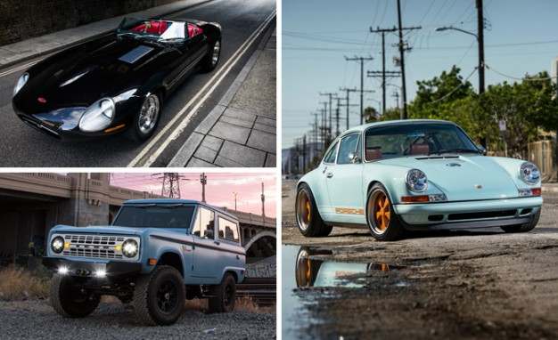 Better than the Resto': We drive Singer's re-created 911, Icon's Bronco, and Eagle's E-type Speedster