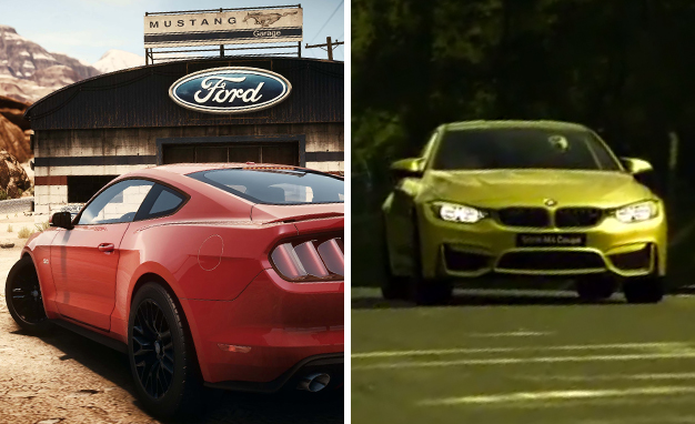Double the Video Games, Double the Debut Fun: Mustang and M4 Available for Your Digital Driving Pleasure