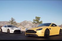 Aston Martin V12 Vantage S vs. Jaguar XKR-S GT on Head 2 Head