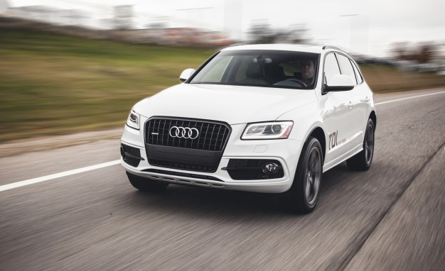 2014 Audi Q5 TDI Diesel Tested:  Fuel-Efficient and Relatively Fleet