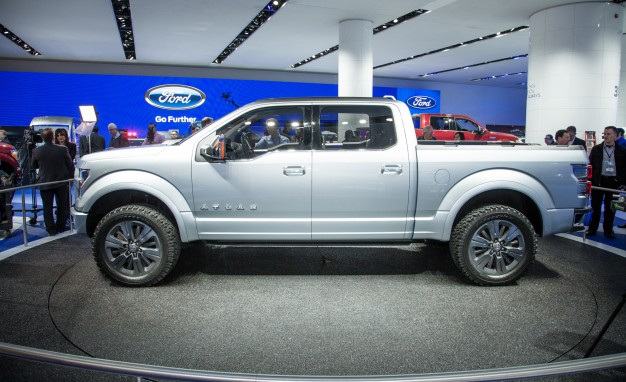2015 Ford F-150 Might Have More Aluminum In It Than Originally Expected [2014 Detroit Auto Show]