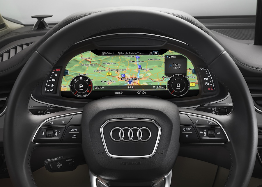 High-Res Nav Maps for Audi Q7