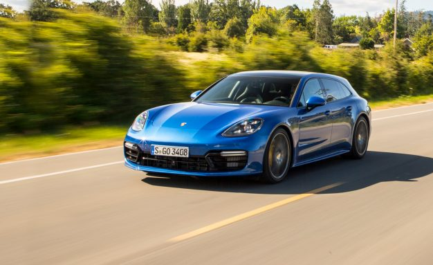2018 Porsche Panamera Sport Turismo First Drive: Business in Back, Party up Front