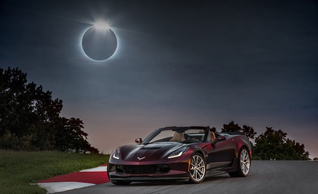 Driving into Darkness: The Great American Eclipse Meets the Great American Sports Car