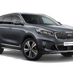 Updated Kia Sorento Crossover Spotted in Frankfurt