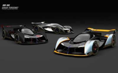 McLaren Vision Gran Turismo Concept Car Uses Central Seating Position—with a Twist