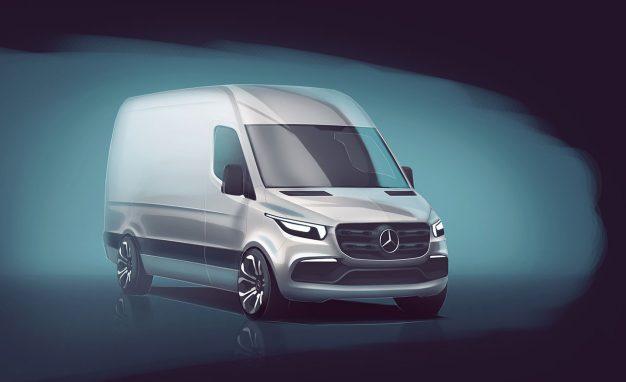 Mercedes-Benz Gives First Look at Next Sprinter Van