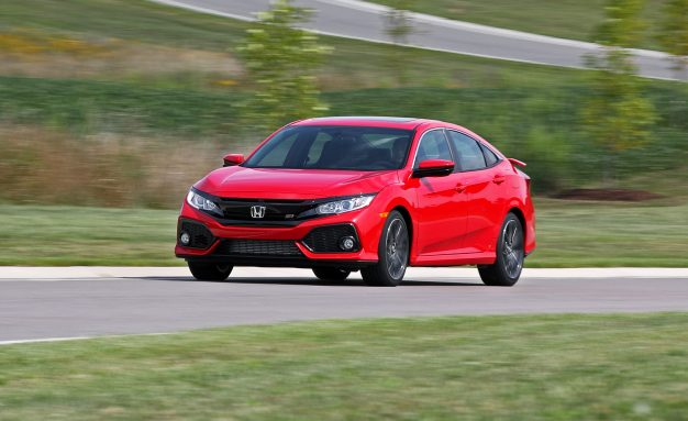2017 Honda Civic Si Sedan Tested—On the Standard All-Season Tires