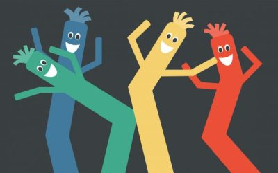 How the Wacky Waving Inflatable Tube Man Pulls Off Those Fresh Moves