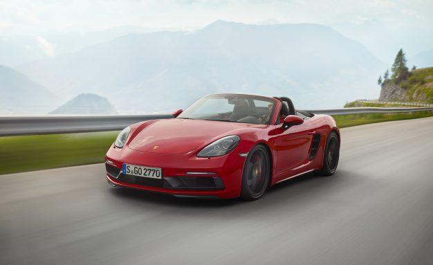 2018 Porsche 718 Boxster and Cayman GTS: More Power, Still No Six