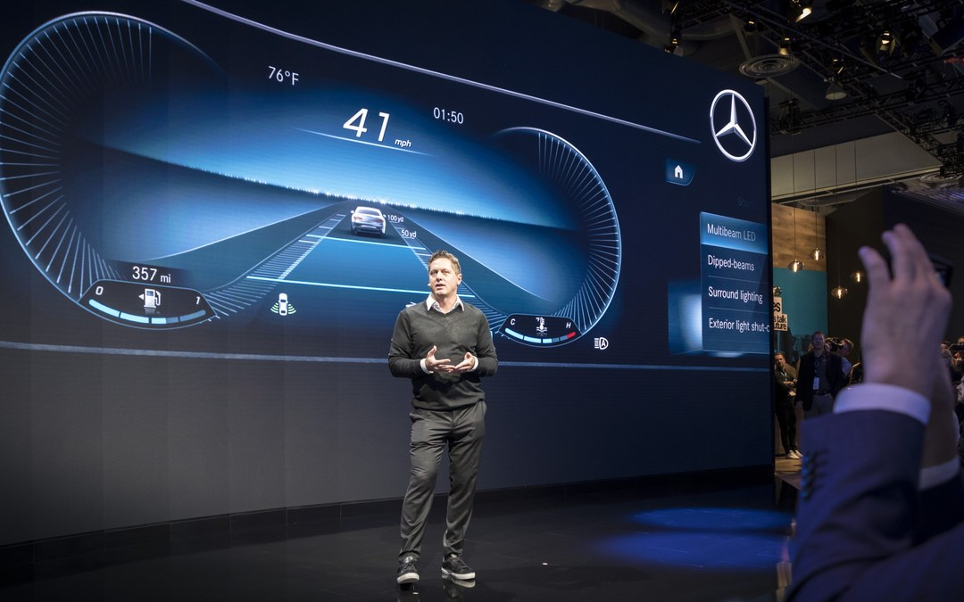 New Mercedes MBUX Interface of the Future