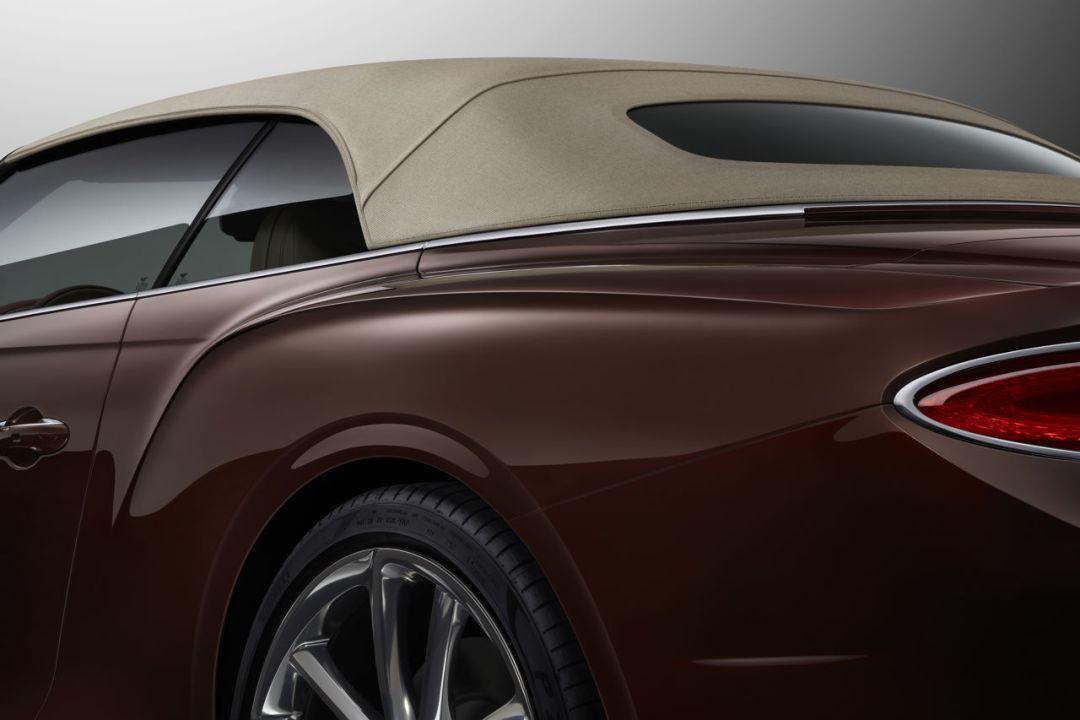 Bentley Continental GT Convertible 47 (tweed hood)