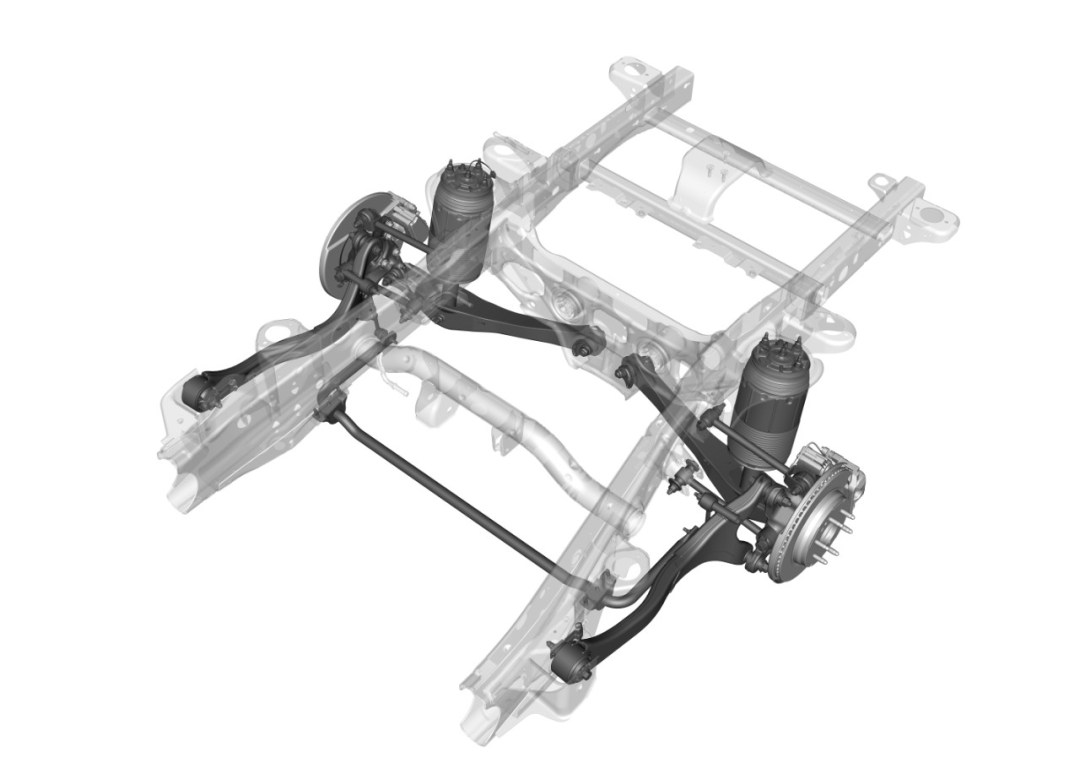 All-New Independent Rear Suspension