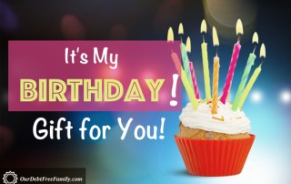 It's My Birthday! Gift for You!