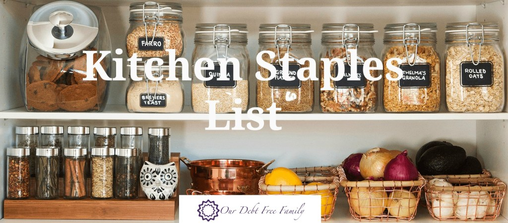 kitchen staples