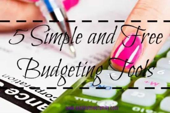 free budgeting tools