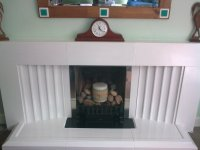 Transform An Ugly Fireplace With Paint - diy projects
