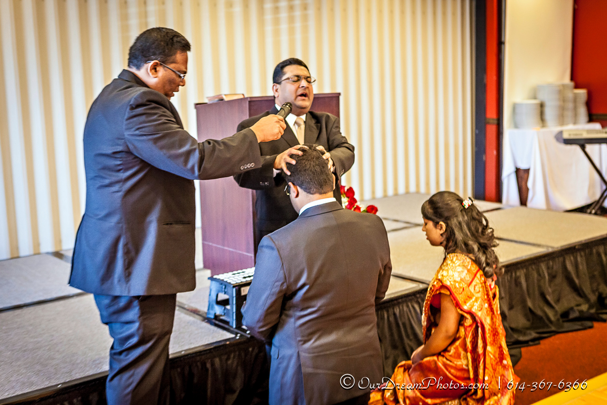 The Engagement Ceremony of Jinju Kochummen and Stephanie George photographed Saturday, November 15, 2014 at the Tadka Indian Cusine. (© James D. DeCamp | http://OurDreamPhotos.com | 614-367-6366)